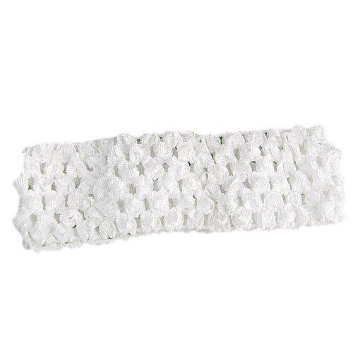 TOOGOO(R) Bandeau en Crochet Elastique 14 x 4cm pour Bebe Fille Accessoire Photographie DIY
