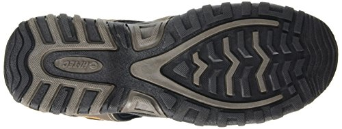 Hi-Tec Shore Herren Trekking Sandalen Brown (Smokey Brown/Taupe/Core Gold)