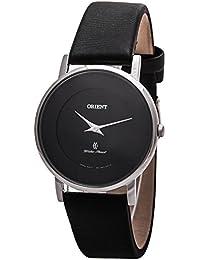 ORIENT Reloj DE Mujer Cuarzo 35MM Correa DE Cuero Caja DE Acero FUA07005B0 cf8a90bfd30b