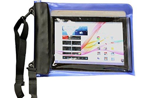 Navitech Schwarzes Wasserfestes Case, Wasserfestes Cover für Odys Connect 7 Pro 17,8 cm (7 Zoll) Tablet-PC