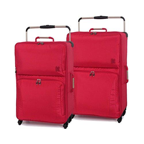 IT World 's leichtestes sub-0-g Ultraleicht-Gepäck Rot rot Medium 74cm + Large 83cm