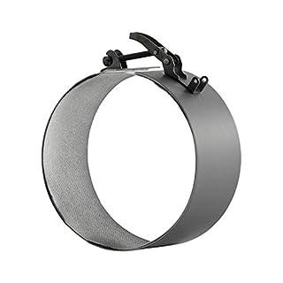 Ofenrohr Rohrschelle Rohrverbinder Verbindungsbridge f. Rauchrohr 120 ø 2mm