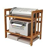 Shelf LYG Küchenwagen Rack-Drucker-Rack, Schreibtisch-Datei Doppel-Storage-Rack Modernen Minimalistischen Multi-Layer-Rack Telefon Rack 80/70/60 / 50cm Küchenregal (größe : 50 * 38 * 50cm)