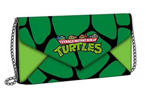 Preisvergleich Produktbild Teenage Mutant Ninja Turtles Envelope Wallet with Chain