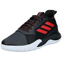 adidas Runthegame, Men's Basketball Shoes, Black (Core Black/Active Red), 43 1/3 EU