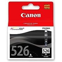 CLI-526 Black Original Ink Cartridge for Canon Pixma iP4800, iP4840, iP4850, iP4900, iP4950, ix6250, ix6500, ix6550, MG5100, MG5120, MG5140, MG5150, MG5200, MG5220, MG5250, MG5320, MG5350, MG6100, MG6120, MG6150, MG6220, MG6250, MG8120, MG8150, MG8170, MG8220, MG8250, MX715, MX880, MX882, MX885, MX895 - Canon 526