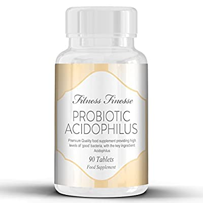 Probiotic Acidophilus 10 billion units produce helpful bacteria that can help fight off numerous conditions , help promote improved digestion, fight and prevent infection and help to strengthen your immune system 90 Tablets by Volt Retail