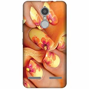 Design Worlds Designer Back Cover for Lenovo K6 power - Nail Art Cases Cover
