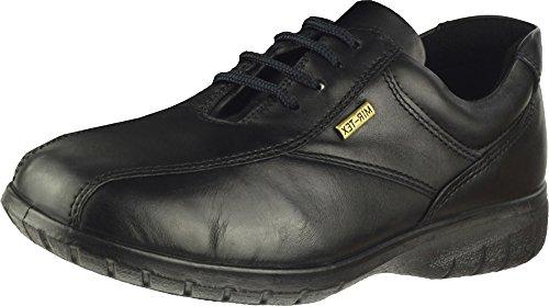 Cotswold Kollektion Salford Damen P/W Damen Stiefel/Schuhe Lace Up Leder Schwarz