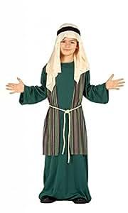 Costume pastorello arabo verde giudeo Presepe vivente bambino 5-6 anni