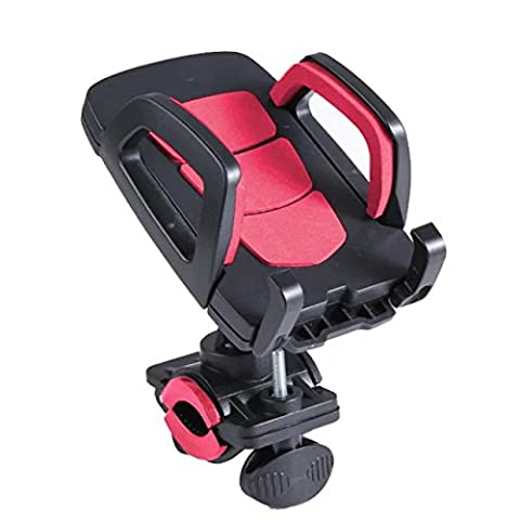 Valenth Bicycle Mount Holder Stand 361 Degree Rotating Mountain Bike Mount Riding equipment for Smartphones iPhone Samsung Huawei HTC LG ZTE Rose Red