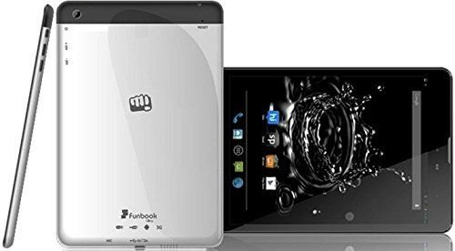 Micromax Funbook P580I Tablet (8GB, 7.8 Inches, WI-FI) Silver, 1GB RAM Price in India