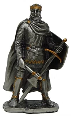 Pewter Robert The Bruce Knight Figurine