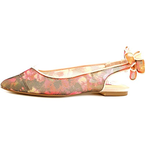 Betsey Johnson Ann Toile Talons Pink Floral