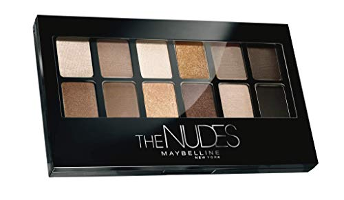 Maybelline New York Palettes Fard à Paupières The Nudes