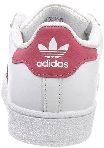 cheap for discount 81f72 8d186 adidas Superstar C, Scarpe da Fitness Unisex-Bambini, Bianco Ftwbla Negbás  000, 34 EU