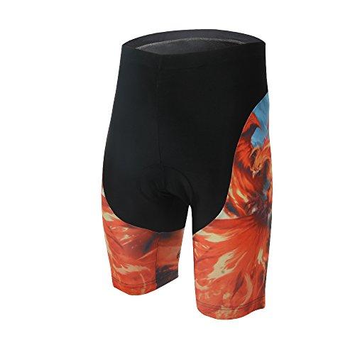 TeyxoCo Herren Phoenix Radsport Bekleidung Padded Shorts XL
