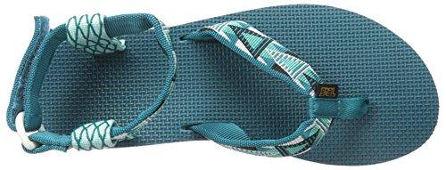 Teva W Original Sandal, Sandali da Donna Blu (Blue - Mhbl)