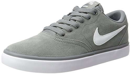 premium selection 3ef88 516c5 Nike SB Check Solar, Zapatillas de Skateboarding para Hombre, Gris (Cool  Grey