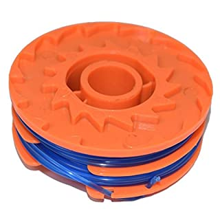 Spool & Line for Qualcast GGT4401, GGT4502 & GGT600A1, GT25 350 Watt and GT30 & GGT450A1 450 Watt Strimmers 1.5 mm x 2 mm x 5 metre by Ufixt®