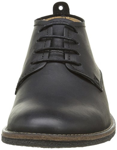 Kickers Bacalio, Chaussures Lacées Homme Noir