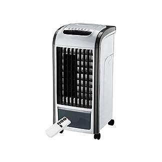 Acondicionador de Aire Frío Calor Portátil 4 en 1 Potente, Refrigerador, Calefactor, Humidificador y Purificador – Esterilizador de Aire,Ultrasilencioso, Temporizador 24 Horas, Mando a Distancia
