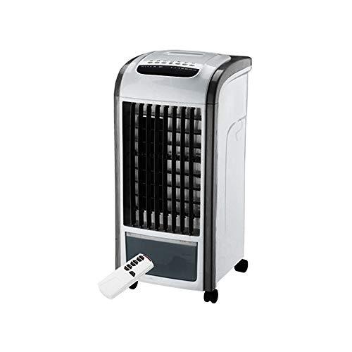 Motherboard Plus Cpu (LoveLeiter 4 in 1 Luftkühler Schwarz mit Fernbedienung für Luftbefeuchter und Lufterfrischer Cold Fan Home Fernbedienung Kühlerlüfter plus Wasser mobile Klimaanlage (ONE SIZE, Schwarz))