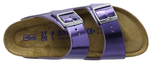 Birkenstock Arizona, Bout Aperto Donna Viola (Metallic Violet)