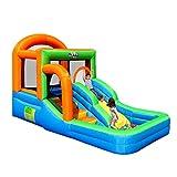 XGYUII Bouncy Castle Indoor Indoor-Rutsche aufblasbare Spielzeuge Wasserrutsche Pool mit Rutschen