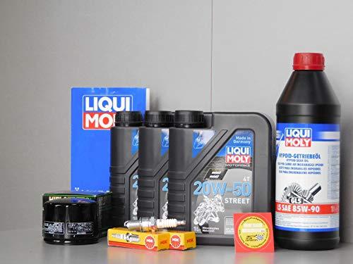 Set di Manutenzione - Moto-Guzzi 850 California - Candela di accensione Olio Filtro ispezio