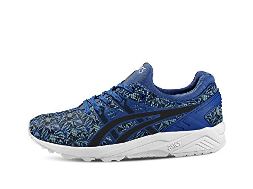 Asics Gel-Kayano Trainer Evo, Baskets Basses Mixte Adulte monaco blue-indian ink