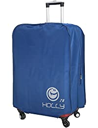 "Holly Lifepro Travel Waterproof Luggage Blue Polyester Cover Protector Suitcase Fits Most 20"" To 30 Luggage (22"")"