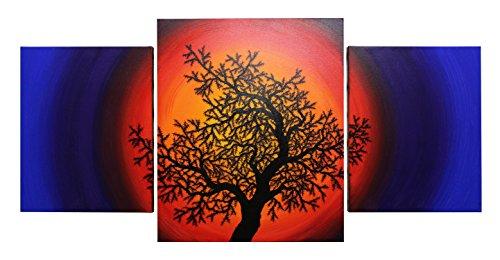 lhouette Baum des Lebens (114 x 55 cm) ()