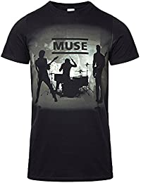 Muse Official T Shirt Drones Band Stage Silhouette All Sizes