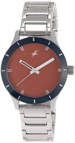 41pmVjrgXjL - 6078SM05 Fastrack Monochrome Red Women watch