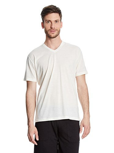 T-Shirt Base V Tee 140 Herren latte XL
