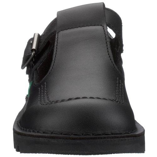 Kickers Kick Lo Aztec, Ballerines Femme Noir (black/black)