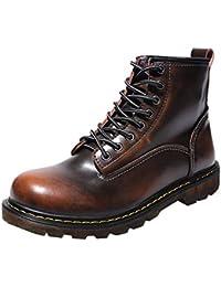 S H-NEEDRA Chaussures Hommes, Haute Qualité Cuir Hommes Bottes Bottes Hiver  ImperméAbles Bottes De 92667cf5a420