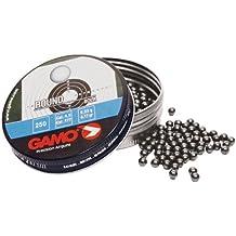 Gamo - Munición balas redondas, color plata, cal. 4,5 mm, 200157