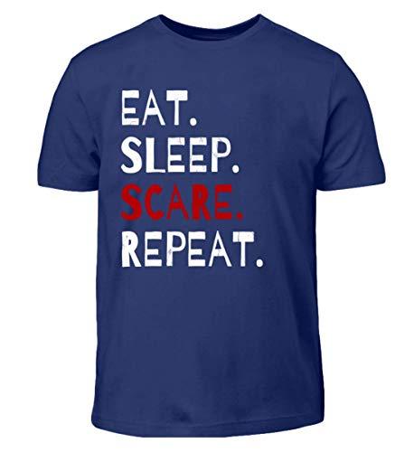 Eat Sleep Scare Repeat - Diabolischer Spaß am Erschrecken und Fürchten zu Halloween - Kinder T-Shirt