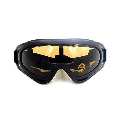 utdoor Sport Brille Motorrad Anti-Sand Reitbrille für Damen und Herren, Polykarbonat, 3, Einheitsgröße ()