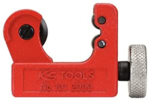 KS Tools 101.2000 Coupe tubes 2 Mini Diamètre 3-22 mm