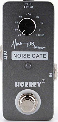 Noise Gate für Gitarren-und Bass Geräuschminderung, mit hoher Empfindlichkeit Noise Gate Controller