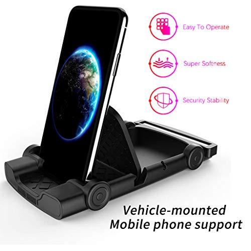 Aomili Universal Einstellbare Auto Armaturenbrett GPS Navigation Halter Unterstützung für Handy Halterung Ständer Grip Mount Autotelefonhalter Schwerkraft KFZ Handyhalterung -