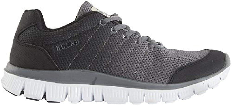 Blend He Charcoal Weiß Herren Neu Sneakers Schuhe