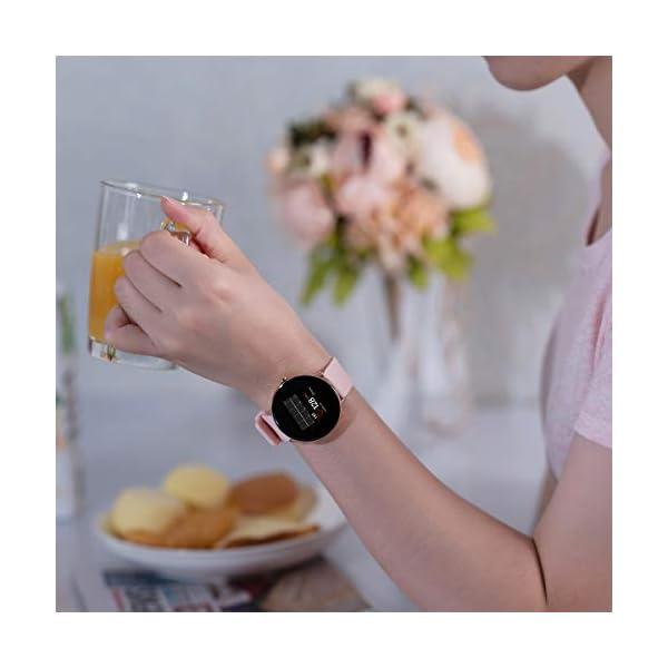 Bebinca Smartwatch Reloj Inteligente con Cronómetro, Pulsera Actividad
