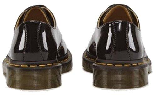 Da donna Dr Martens 1461, Scarpe casual/moda/Classic, 3occhielli, in pelle con suola a cuscinetto d' aria Nero