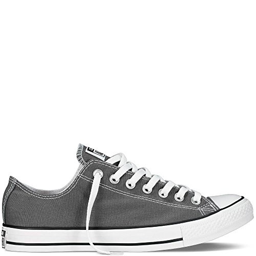 Converse Chuck Taylor All Star Seasonal Ox, Unisex-Erwachsene Sneakers, Grau (Charcoal), 44.5 EU