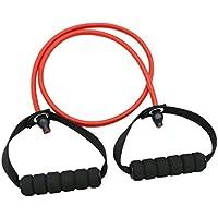 NON Sharplace 1 pieza de Banda con Manija para Colgar Fitness Gimnasio Deportes Duradero - rojo
