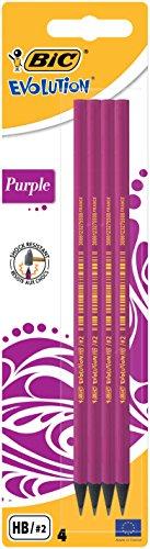 Olówek Miss BIC Evolution Blister 4 sztuki